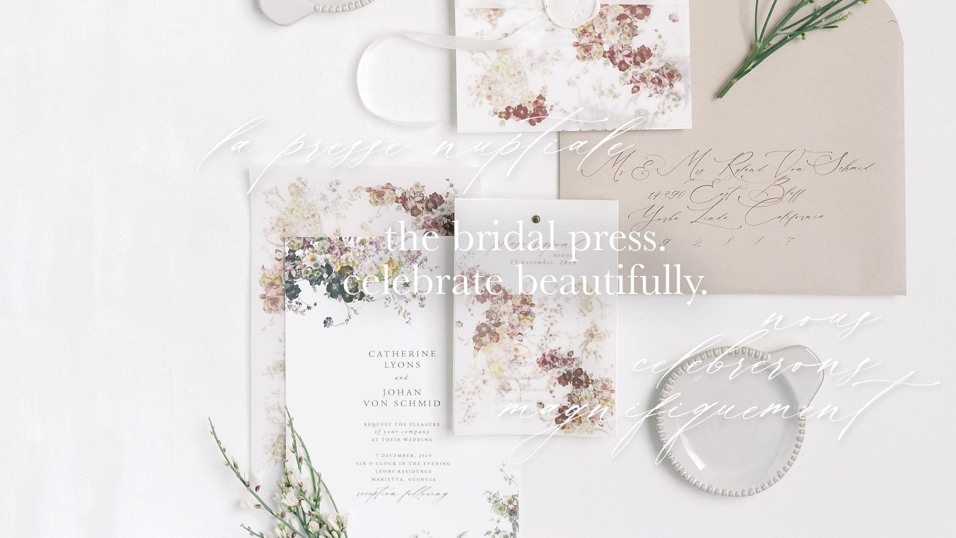 The Bridal Press Wedding Invitations