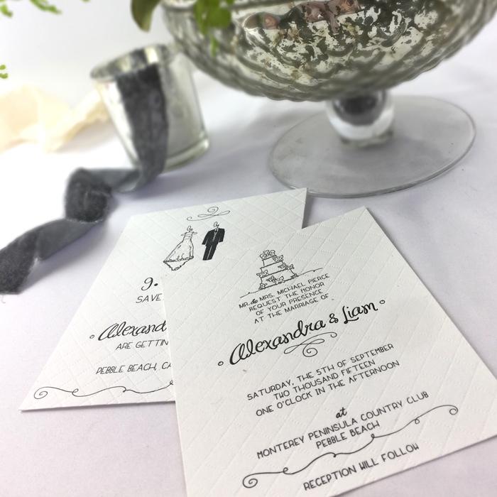 Alexandra letterpress quilt