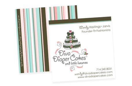 Diva diaper cakes