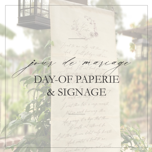 day of paper and signs