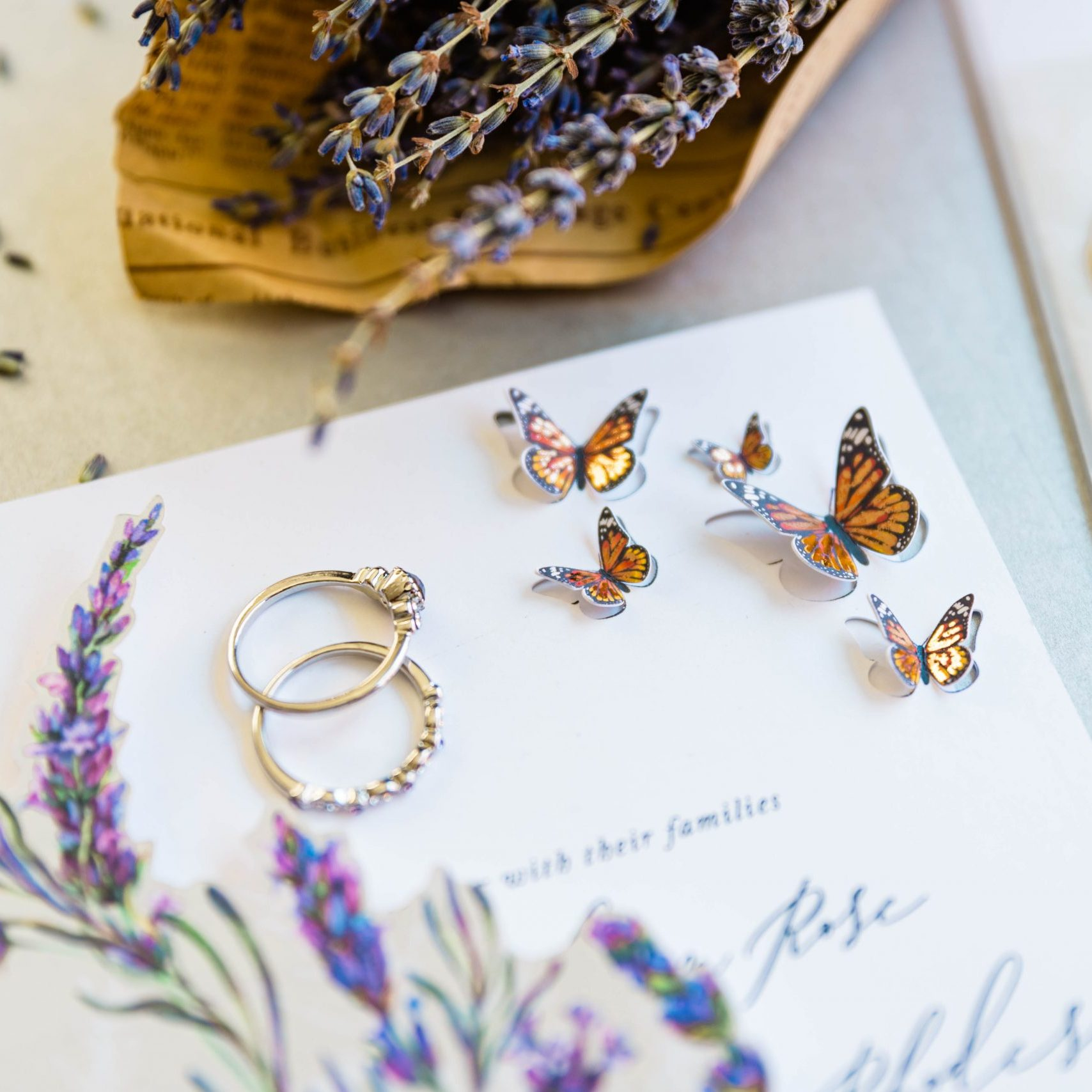 Die Cut Butterflies